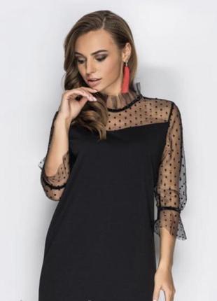 Плаття чорне molegi