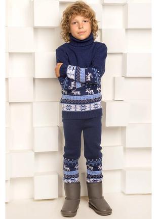 Новые вязанные гамаши, лосины, рейтузы на ребенка 4-6лет