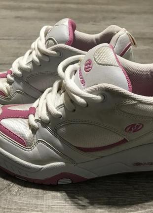 Оригинальные роликовые кроссовки heelys, 23 см