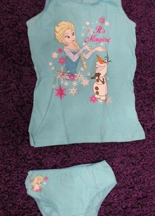 Комплект красивого нижнего белья для девочки фроузен3