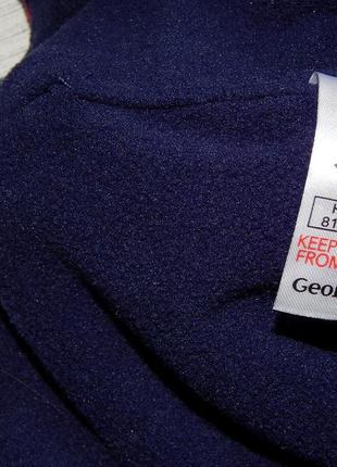 Стильная шапка на флисе george, для девочки 1-3 года. 81-98 см. осень/весна.4