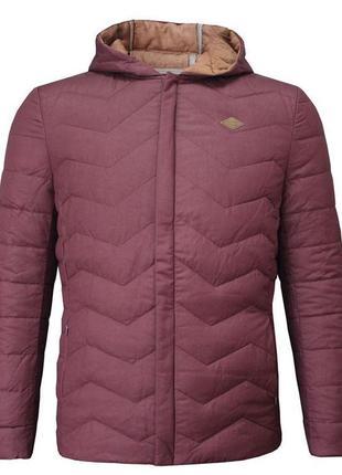 Демисезонный пуховик, куртка, от известного бренда lee cooper, xs, s