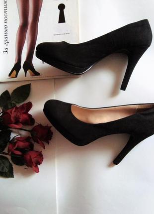 Шикарные туфли на высоком каблуке!