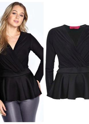 Блуза -кофта boohoo большой размер (20)