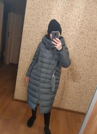 Пальто пуховик batter flеi на изософте