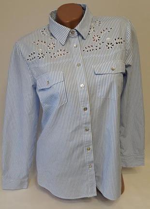 Очень красивая рубашечка с перфорацией