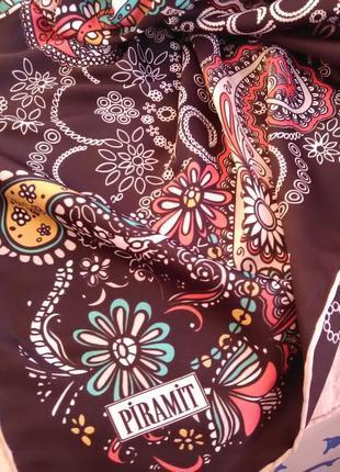 """Красивый платок в принт """"пейсли"""""""