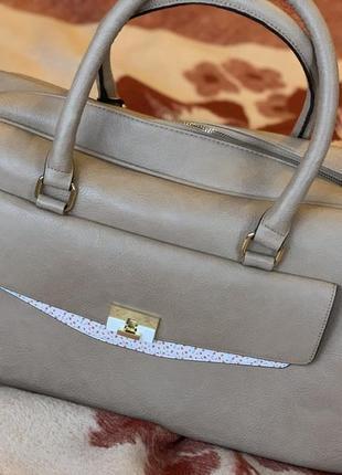 Дорожная сумка - эко кожа