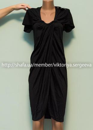 Большой выбор платьев - новое с биркой платье миди с рюшами
