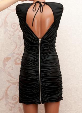 Большой выбор платьев - красивое нарядное платье под кожу с замком через всю спину
