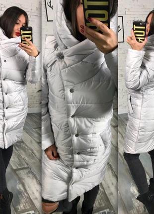 Курточка-пальто на кнопках