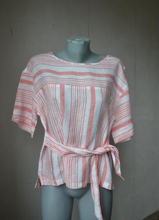 Сорочка блуза 100%льон