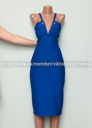 Большой выбор платьев - новое с биркой шикарное платье миди