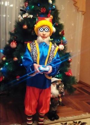 Продам новогодний костюм гномика рост 104-110
