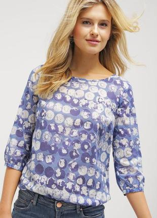 Премиум натуральная рубашка блузка из хлопка opus
