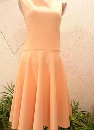 Платье с солнцем юбкой