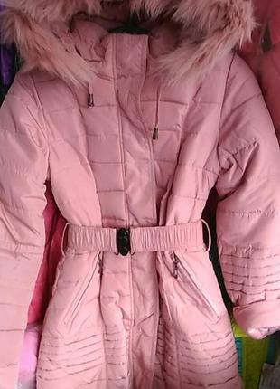 Пальто на холофайбере.