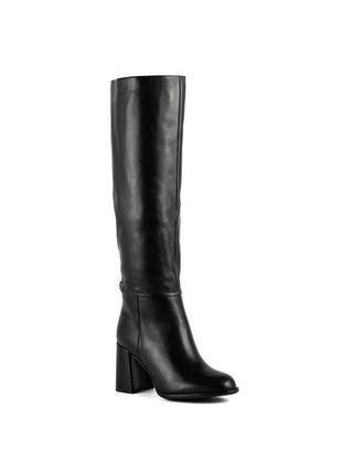 1064ц женские сапоги djovannia,кожаные,на каблуке,на высоком каблуке,на толстом каблуке