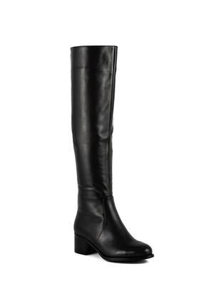 1061ц женские сапоги djovannia,кожаные,на толстом каблуке,на каблуке,на удобном каблуке