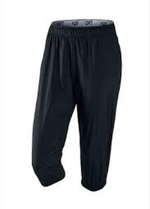 Nike ® женские спортивные капри размер s\m бриджи шорты 8\10 оригинал