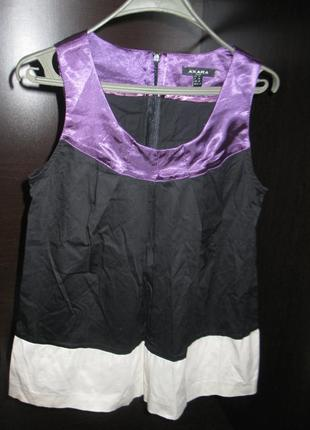 Трехцветная блуза - новая
