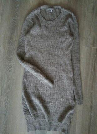Платье туника в рубчик от m&s