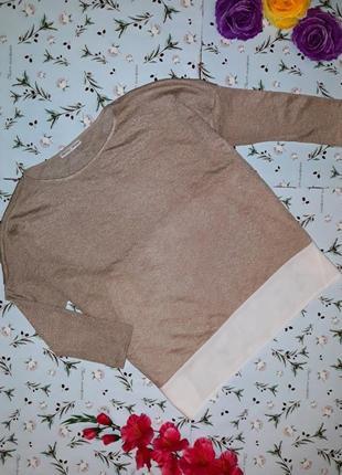 Стильная оригинальная оверсайз блуза zara, размер 46-48