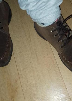 Ботинки зимние rieker 25 см