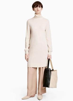 Платье джемпер из 100% кашемира