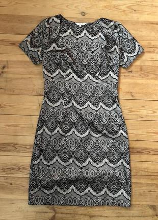 Шикарное новое кружевное платье peacocks
