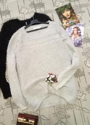 Симпатичный мягкий свитер-травка,размер 12-14