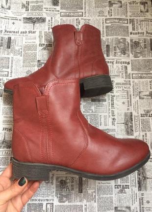 Очень крутые ботинки 37,38 р esmara