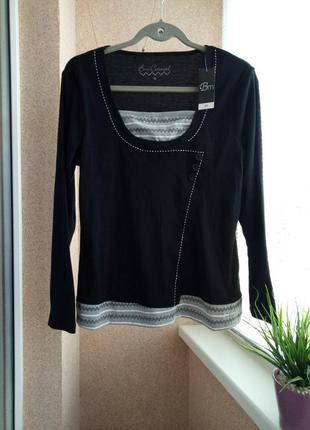 Трикотажный свитерок/кофточка с длинным рукавом