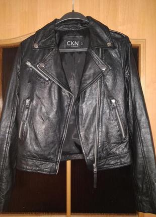 Продам кожаную куртку косуху