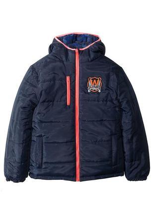 Теплая зимняя детская куртка бонпри на 4-5 лет 104-110