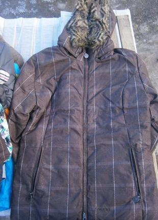 Куртка зимова пухова iguana