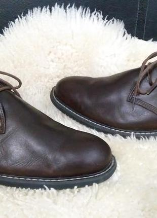 Timberlend ботинки кожа 43 р по ст 28.5 см внутри текстиль