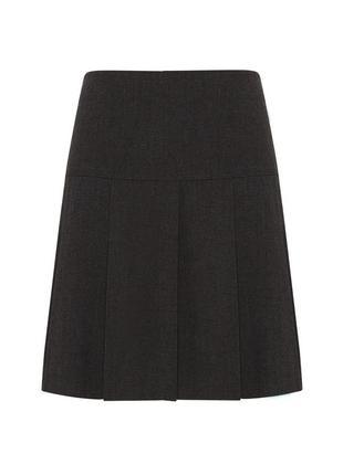 Школьная юбка bhs в складку, рост 122 см