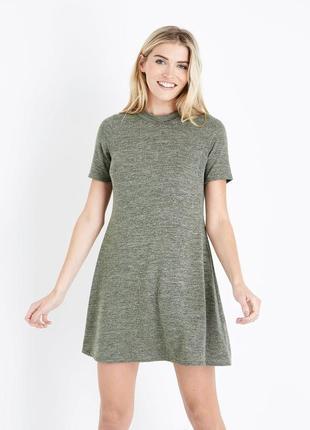Платье в рубчик new look