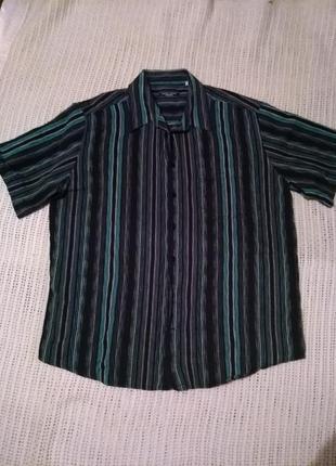 Котоновая стильная рубашка