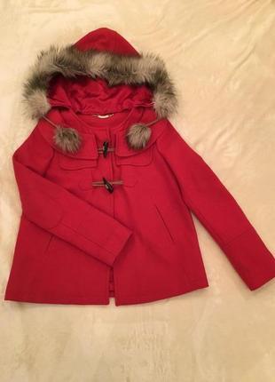 Juicy couture оригинал пальто куртка парка шерсть xs-s