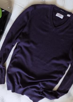Коттоновый мужской пуловер