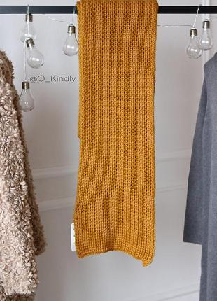 Zara  объемный шарф