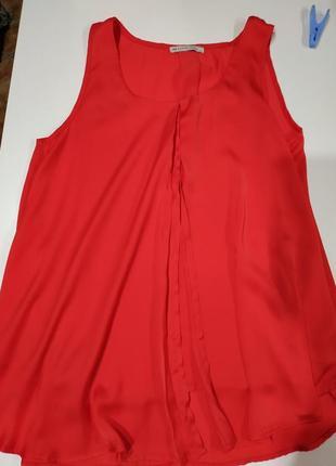 Блуза блузка красная новая