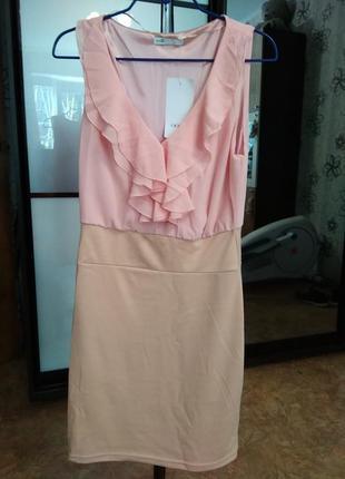 Нарядное платье oodji размер s