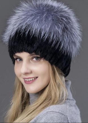 шапки из чернобурки 2019 купить недорого вещи в интернет магазине