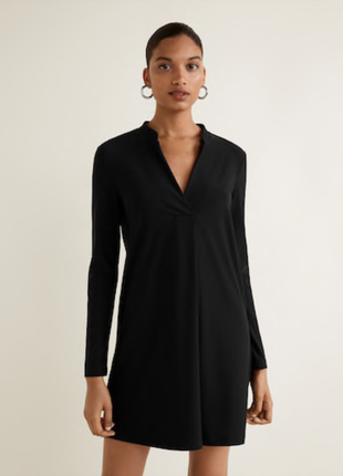 Платье прямое xs mango платье рубашка