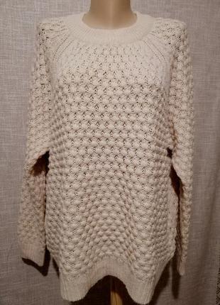 Шикарный трендовый свитер оверсайз, размер s-m