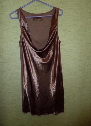 Льняное платье deha knitwear, р s 55% лен 45% коттон