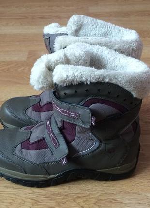 Зимние термо ботинки jack wolfskin оригинал 36 размера в очень хорошем состоянии
